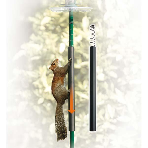 Squirrel Slinky (Garden Pole System)