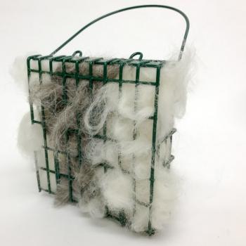 Bird Nesting Material and Holder
