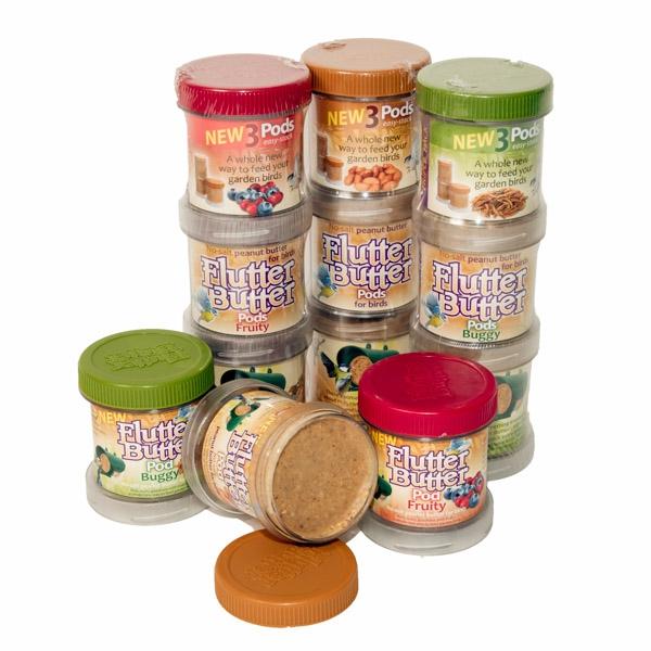 Flutter Peanut Butter Pods Mixed Value Pack