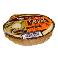 Coconut Bird Feeder - Suet with Mealworms
