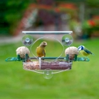 Complete Window Feeder with 2x Fat Ball Holders