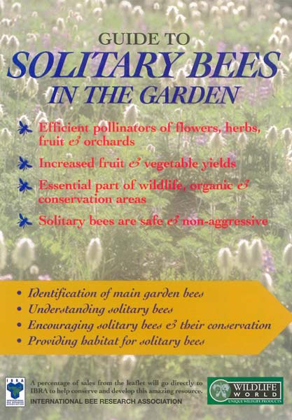 Guide to Solitary Bees in the Garden