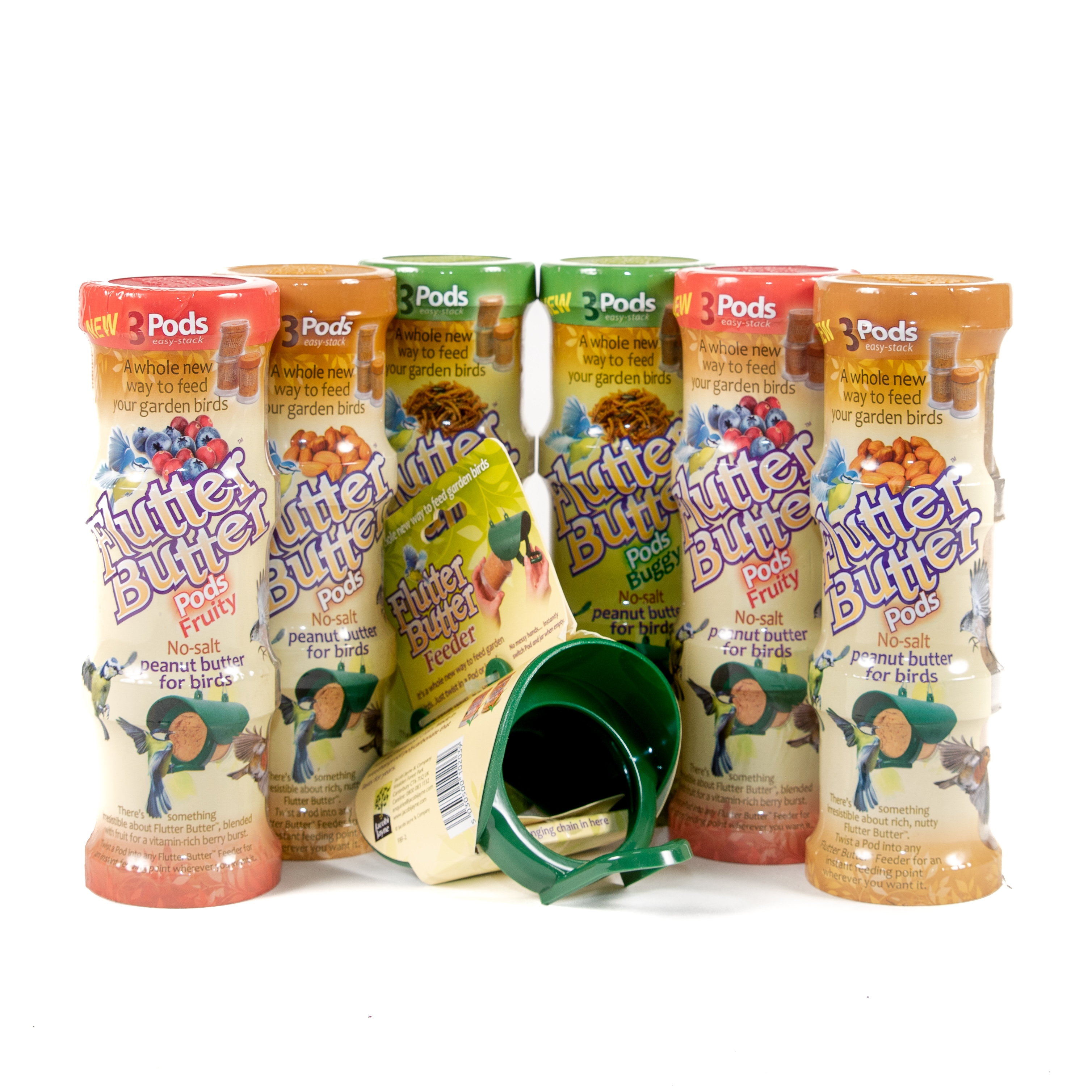 Flutter Butter Feeder Pack