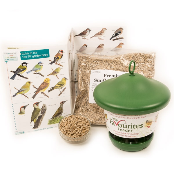 Garden Bird Guide, Feeder & Food Pack