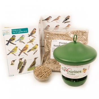 Garden Bird Guide, Feeder & Food Pack