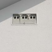 Schwegler 1SP Nest Box - Sparrow Terrace - Grey