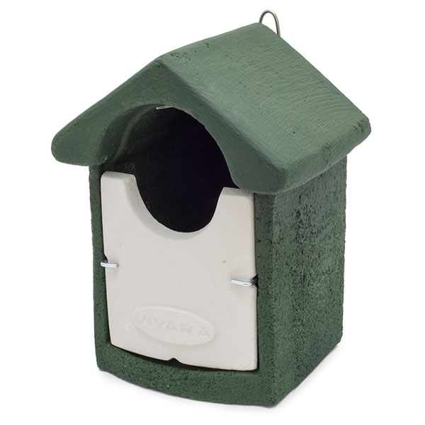 Woodstone Barcelona Open Nest Box Green