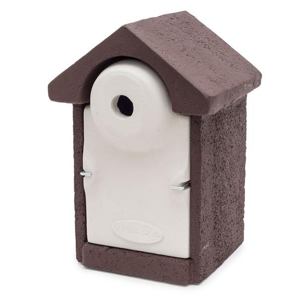 Woodstone Seville Nest Box 28mm Brown