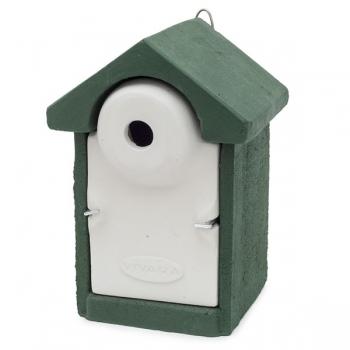 Woodstone Seville Nest Box 32mm Green
