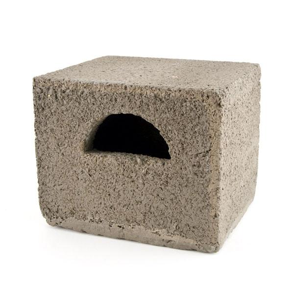 Build In Woodstone Half Open Nest Box
