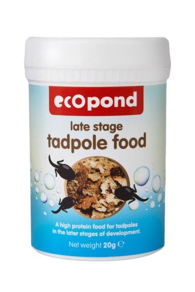 Late Stage Tadpole Food