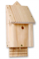 Natural Timber Bat Box