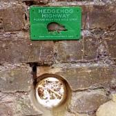 Hedgehog Highway Sign