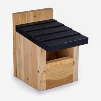 Ark Cedar Bird Nest Box - Open Fronted